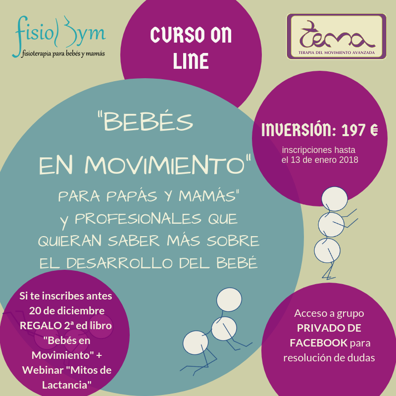 "CURSO ON LINE ""BEBÉS EN MOVIMIENTO"""